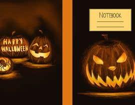 #36 para Need Halloween Cover for  Notebook Designed por RebecaBeatriceB