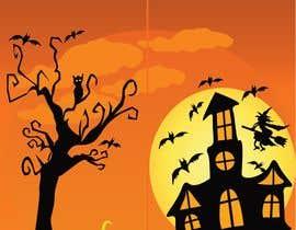 #27 para Need Halloween Cover for  Notebook Designed por rownik58