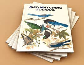 #54 for I need the cover for Bird Watching Journal Designed af muntahib17