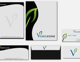 #66 para Stationery Design for Verrestone with additional work for winner por rashedhannan
