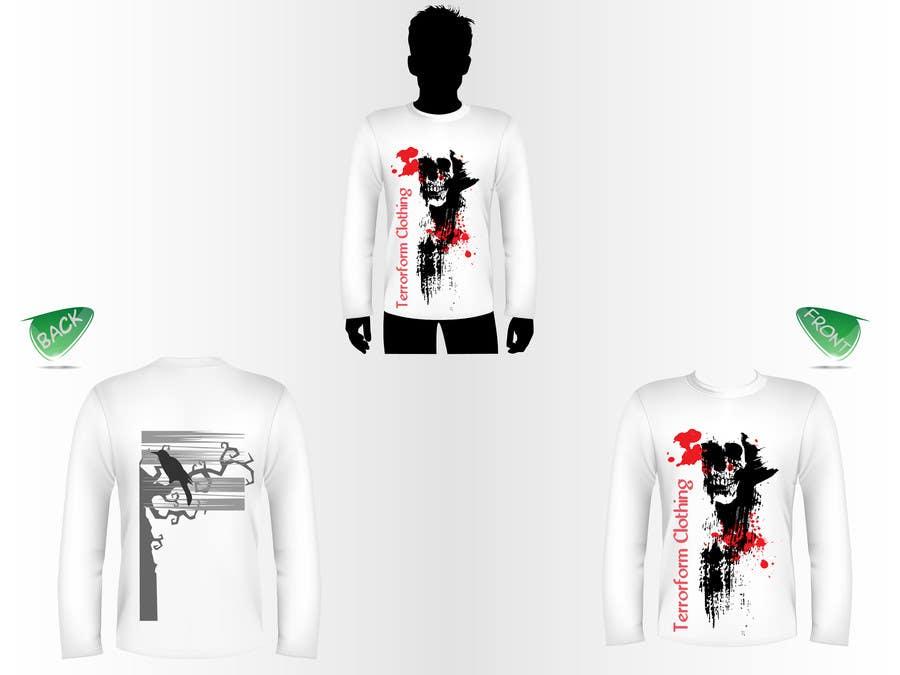 Inscrição nº                                         10                                      do Concurso para                                         T-shirt Design for new clothing business