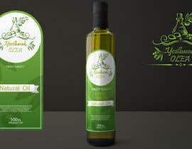 nº 144 pour Olive Oil Bottle Logo par emyibrahim007