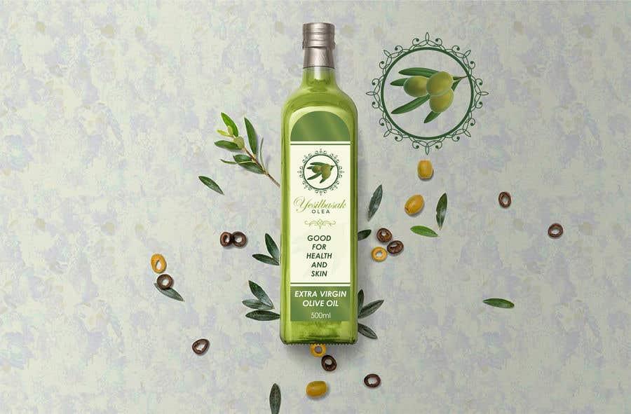 Proposition n°                                        133                                      du concours                                         Olive Oil Bottle Logo