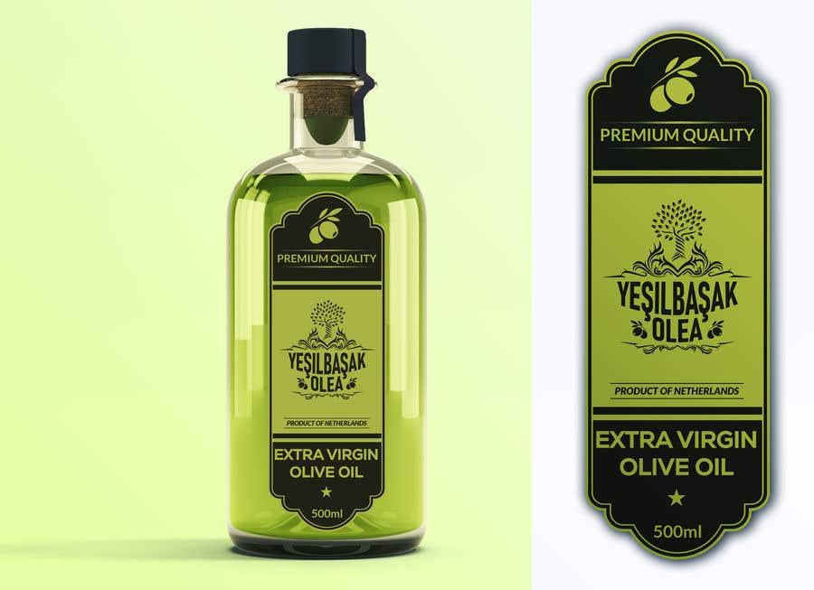 Proposition n°                                        156                                      du concours                                         Olive Oil Bottle Logo