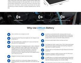 #24 cho Explainer Website for Marine Battery startup product bởi anam02