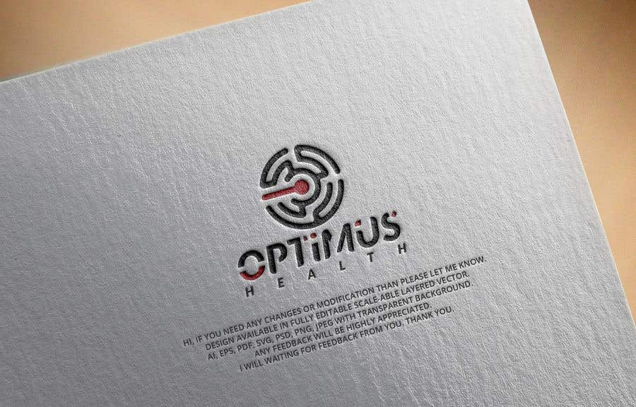 """Contest Entry #                                        179                                      for                                         Design a logo for a high tech health and fitness called technology company """" Optimus Health"""""""