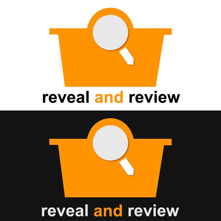 Konkurrenceindlæg #115 for Logo Design for my online busines - Reveal and Review