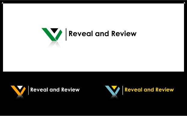 #120 for Logo Design for my online busines - Reveal and Review by romelkhan123