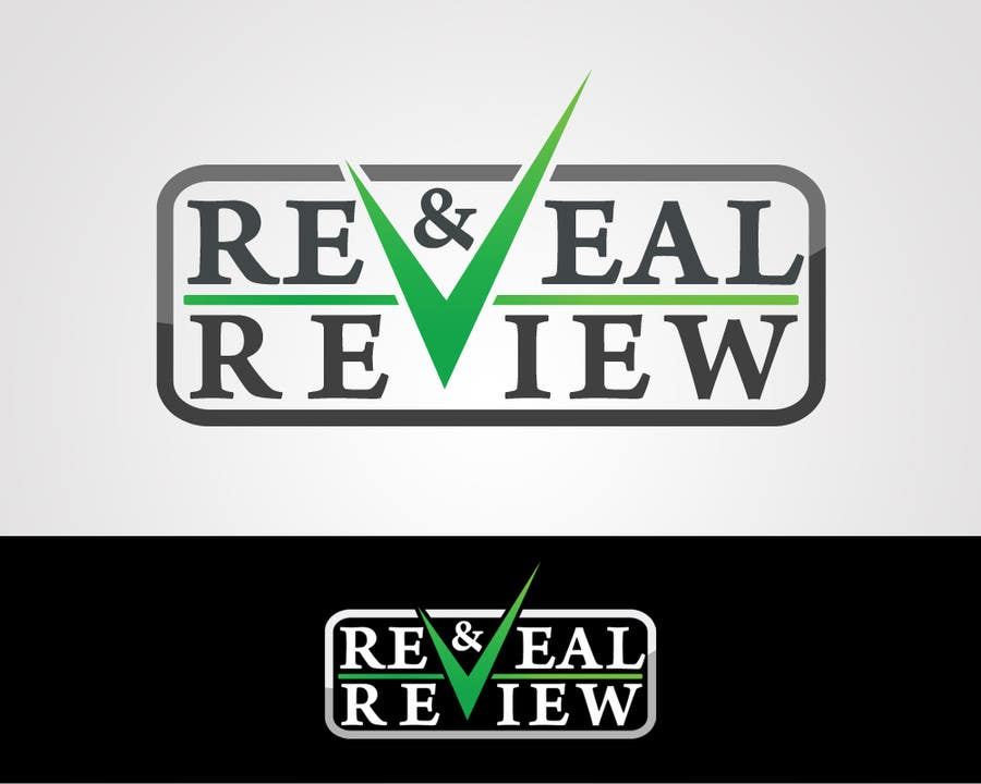 #26 for Logo Design for my online busines - Reveal and Review by cornelee