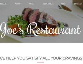 #5 for I need a website for a restaurant with  book table by salonioswal000