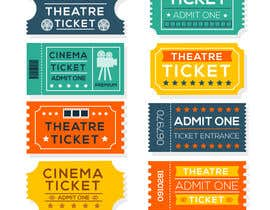 "#7 for ""Guest Pass"" Ticket graphic for Social Magnet by shakibkhan999"