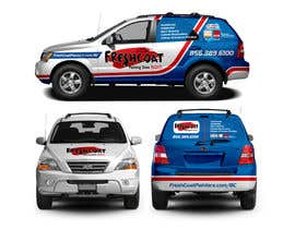 #76 for Car Wrap Design by raselcolors