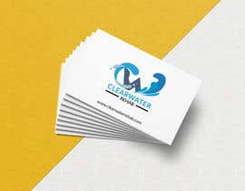 #47 cho Logo and business card design for Clearwater Rehab keep it simple and professional using white and blue colours. bởi AshrafulKabirr
