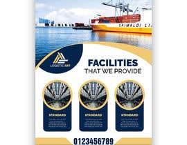 Nro 36 kilpailuun Design a brochure for warehousing and logistic Company käyttäjältä FarooqGraphics
