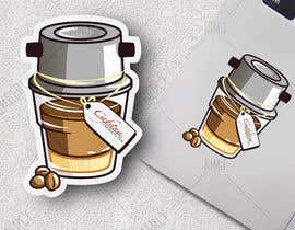 #17 для 2 QUICK ILLUSTRATIONS: Cartoon Vietnamese Iced Coffee & Vietnamese Pho Bowl от KimGFX