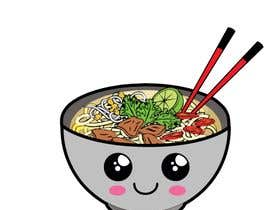 nº 11 pour 2 QUICK ILLUSTRATIONS: Cartoon Vietnamese Iced Coffee & Vietnamese Pho Bowl par AmalJavvad