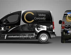 #75 untuk Design a car wrap for vineyard delivery car oleh franklugo
