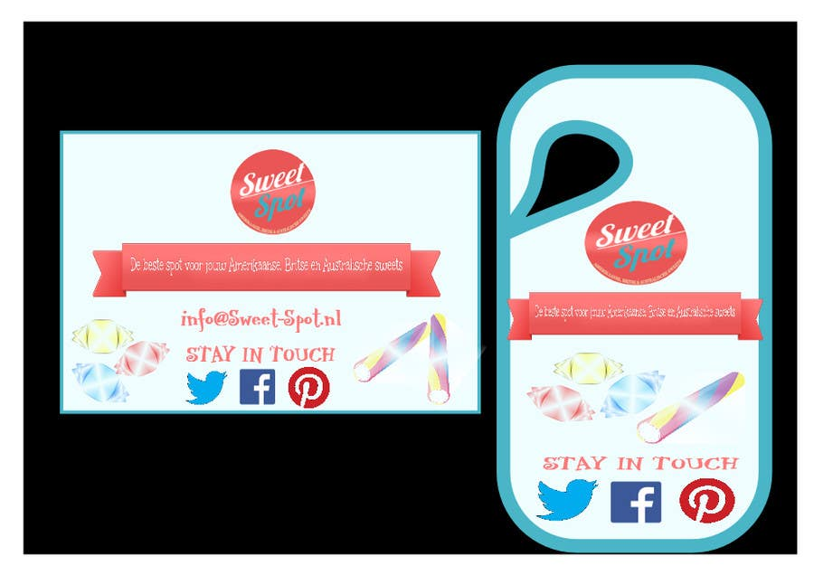 Contest Entry #                                        5                                      for                                         Print & Packaging Design for Business card and door hanger