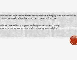 #46 untuk Copyright writer - mission statement for a swiss diamond brand oleh UNICONTENT