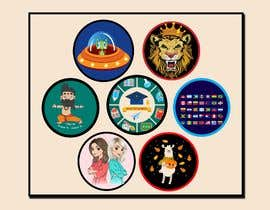 #32 untuk Round Sticker Creation!!! Unique kid friendly round stickers needed! Theme of stickers included oleh mshahanbd