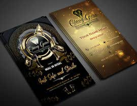 #14 untuk Finish the business card for classy gems, Edit templates included. oleh websketchworld