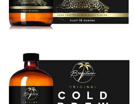 #97 for Design a CLASSY EYE CATCHING Bottle Label for cold brew bottle by andreasaddyp