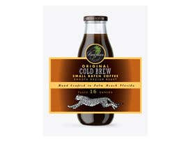 #88 for Design a CLASSY EYE CATCHING Bottle Label for cold brew bottle by masudrana25860