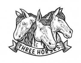#1 for Design three horse logo's af khankirsele