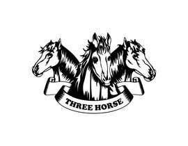 nº 55 pour Design three horse logo's par sayedjobaer