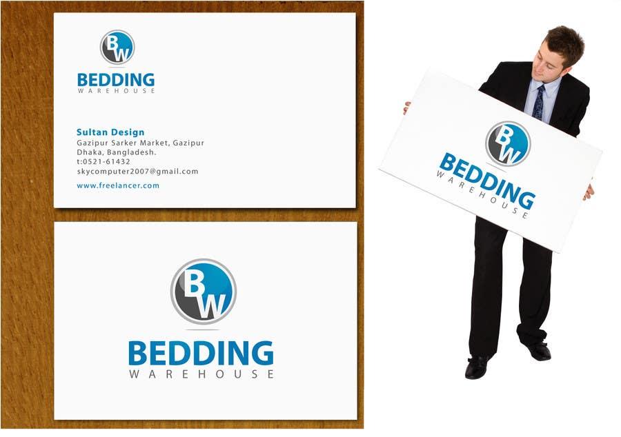 Kilpailutyö #                                        109                                      kilpailussa                                         Logo Design for Bedding Warehouse