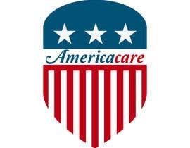 #21 for A simple logo with American Flag behind. Logo name: Americacare by ZunairahF