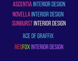 #177 cho Create a Interior Design Film Name bởi sharif106