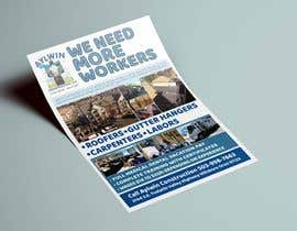#30 for Need brouchere for hiring roofers by marinauri