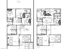 nº 61 pour Build me 2D Floor Plan for 2 Floor house! par rizuishan
