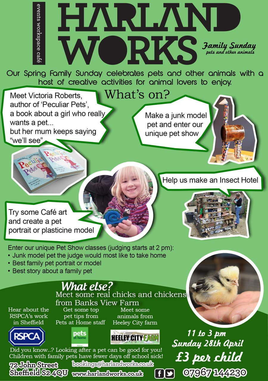 Contest Entry #9 for Flyer Design for Harland Works Spring Family Sunday
