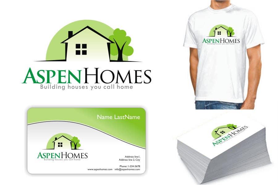 Contest Entry #                                        987                                      for                                         Logo Design for Aspen Homes - Nationally Recognized New Home Builder,