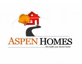 vinayvijayan tarafından Logo Design for Aspen Homes - Nationally Recognized New Home Builder, için no 1000