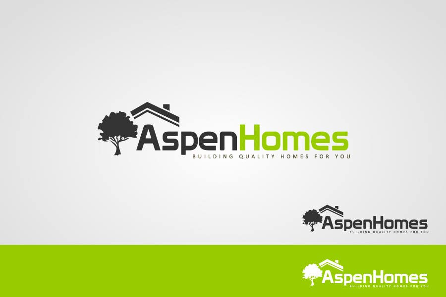 989 for logo design for aspen homes nationally recognized new home builder by - Home Builder Design