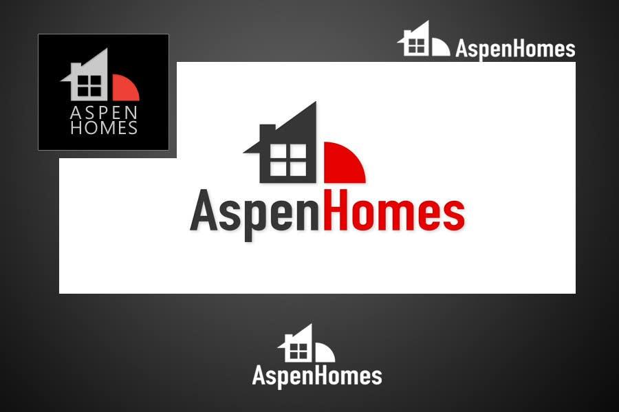 Bài tham dự cuộc thi #                                        90                                      cho                                         Logo Design for Aspen Homes - Nationally Recognized New Home Builder,