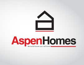 calolobo tarafından Logo Design for Aspen Homes - Nationally Recognized New Home Builder, için no 384