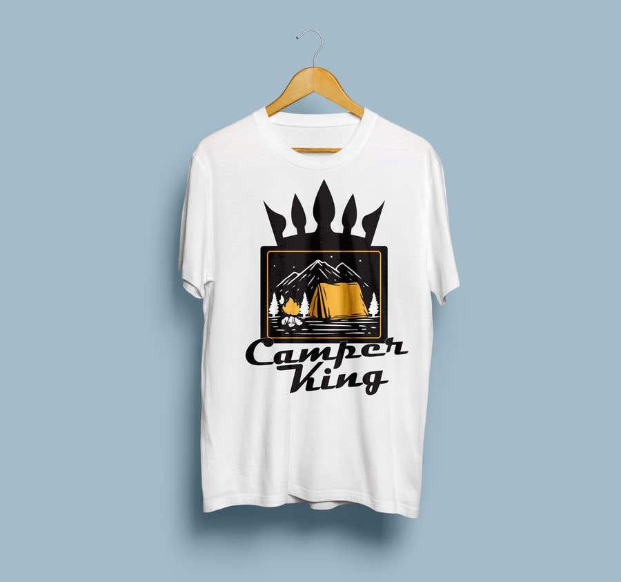 Penyertaan Peraduan #                                        42                                      untuk                                         Camper King Merchandise