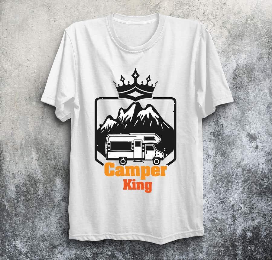 Penyertaan Peraduan #                                        193                                      untuk                                         Camper King Merchandise