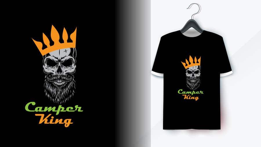 Penyertaan Peraduan #                                        137                                      untuk                                         Camper King Merchandise
