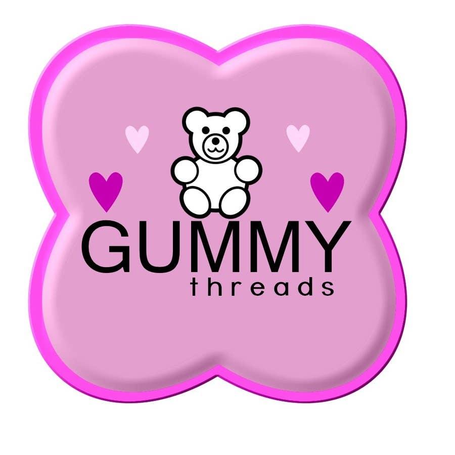 Inscrição nº 56 do Concurso para Logo Design for 'GUMMY THREADS'