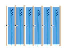 #7 untuk Design a Surfboard Locker for the Sharing Economy oleh emonali55
