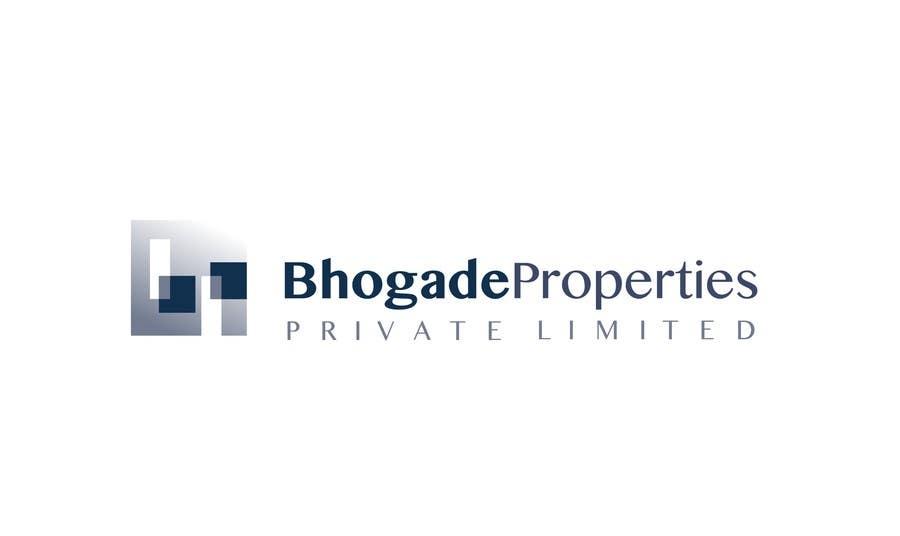 Bài tham dự cuộc thi #                                        11                                      cho                                         Logo Design for Bhogade Properties Pvt. Ltd.