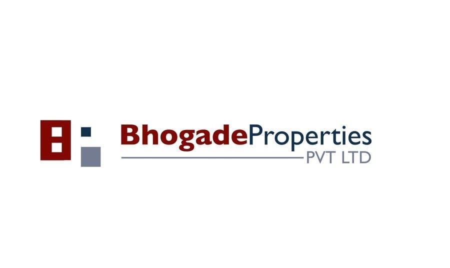 Bài tham dự cuộc thi #                                        13                                      cho                                         Logo Design for Bhogade Properties Pvt. Ltd.