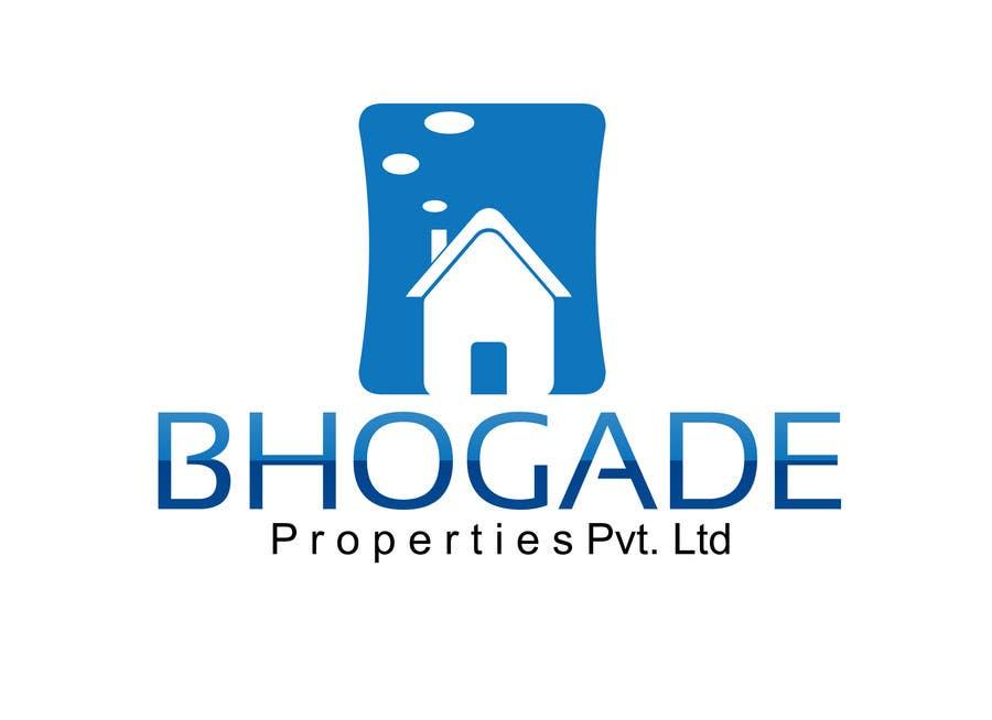 Bài tham dự cuộc thi #                                        26                                      cho                                         Logo Design for Bhogade Properties Pvt. Ltd.