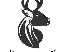 #25 for Buck antler logo design by bikiakram0