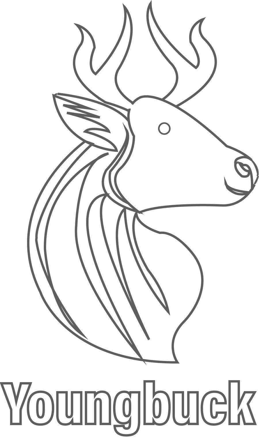Contest Entry #                                        32                                      for                                         Buck antler logo design